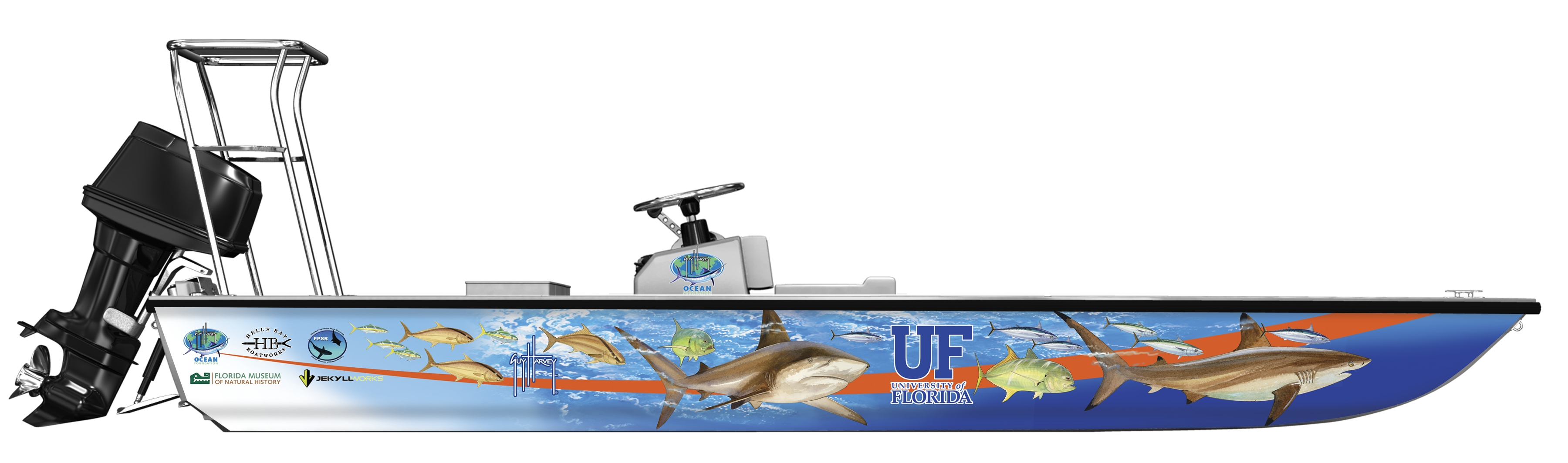 Florida Program For Shark Research Using Boat Provided By